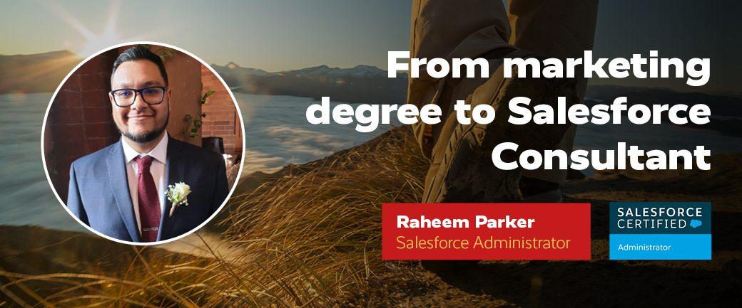 Raheem Parker Salesforce Consultant Revolent