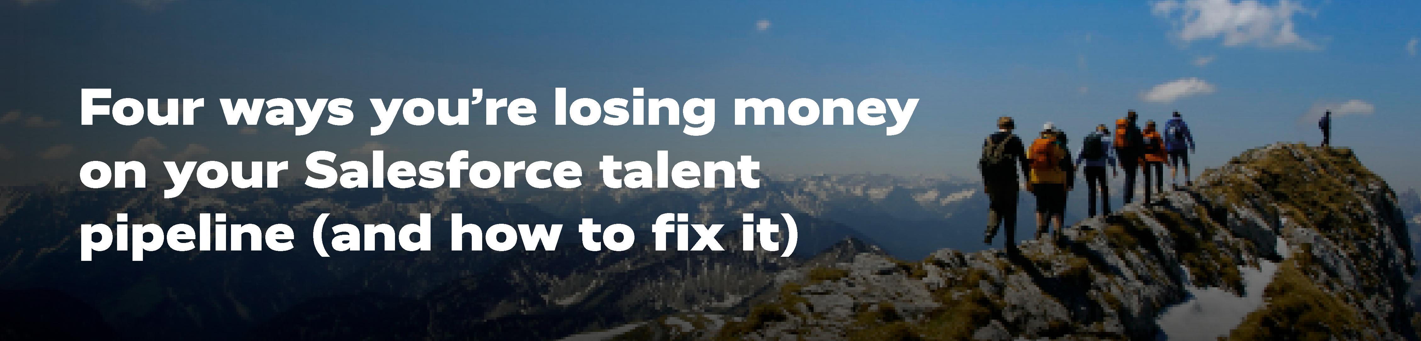Four ways you're losing money-Blog Header