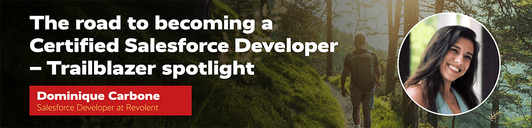 Salesforce Developer Dominique Carbone-header